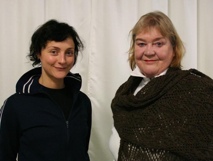 Satu Rekola ja Ulla Koivisto Kuva: Nina Rantala